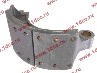 Колодка тормозная передняя с накладками (металл) H HOWO (ХОВО) WG199000440031 фото 1 Хабаровск