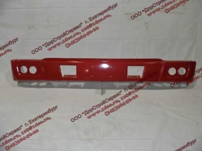 Бампер H красный самосвал металлический HOWO (ХОВО) WG1641240001 фото 1 Хабаровск