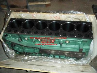 Блок цилиндров двигатель WD615.68 (336 л.с.) H2 HOWO (ХОВО) 61500010383 фото 1 Хабаровск