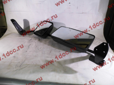 Зеркало заднего вида левое в сборе (на металл. стойке) H2/H3 HOWO (ХОВО) WG1842888010/2 L фото 1 Хабаровск