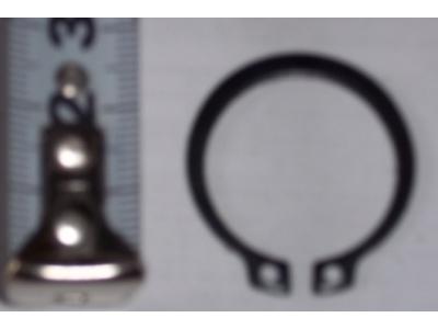Кольцо стопорное замковое шестерни полуоси H HOWO (ХОВО) 190003933351 фото 1 Хабаровск