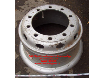 Диск колесный R20х8,5 10 отв. H2/H3/SH HOWO (ХОВО) WG9112610062 фото 1 Хабаровск