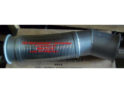 Гофра-труба выхлопная 8х4  H2/H3 HOWO (ХОВО) WG9731540012 фото 1 Хабаровск