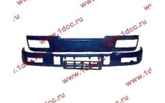 Бампер C синий верхний+нижний (в сборе) фото Хабаровск