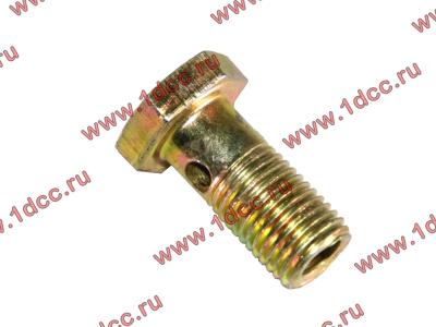 Болт пустотелый М12х1,25 (штуцер топливный) H HOWO (ХОВО) 90003962607 фото 1 Хабаровск