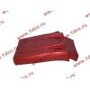 Брызговик передней оси правый H3 красный HOWO (ХОВО) WG1642230104 фото 4 Хабаровск